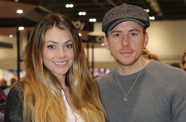 danny jones with wife georgia