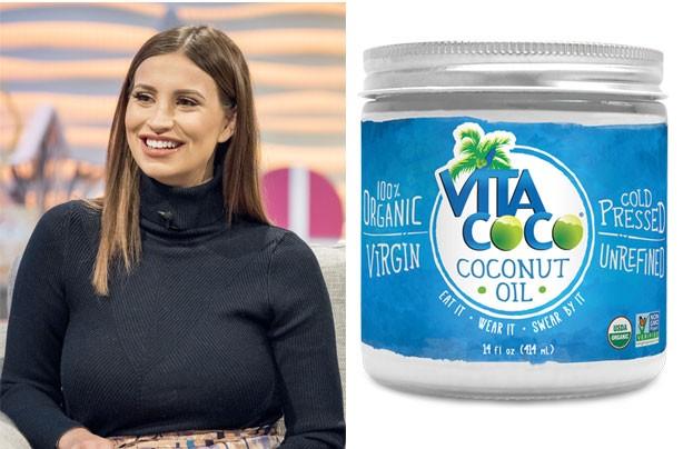 Ferne McCann coconut oil